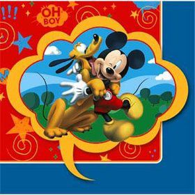 Mickey Beverage Napkins (16-pack)