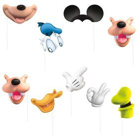 Mickey Clubhouse Photo Booth Props