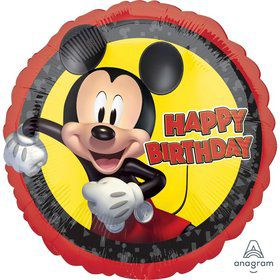 Mickey Forever Birthday Foil Balloon