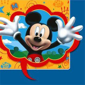 Mickey Luncheon Napkins (16 Pack)