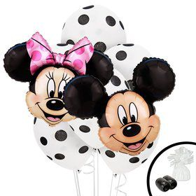 Mickey Minnie Jumbo Balloon Bouquet