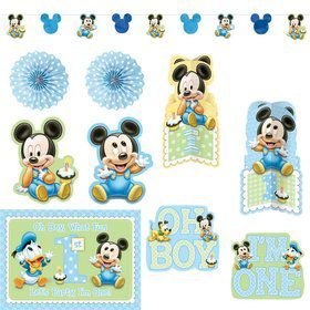 Mickey Mouse 1st Birthday Decorating Kit (Each)