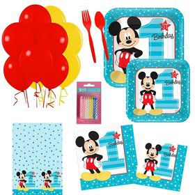 Mickey Mouse 1st Birthday Party Essentials Kit