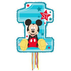 Mickey Mouse 1st Birthday Pinata