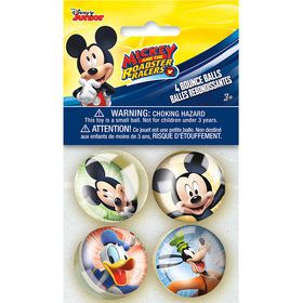 Mickey Mouse Bounce Ball Favors (4 Count)