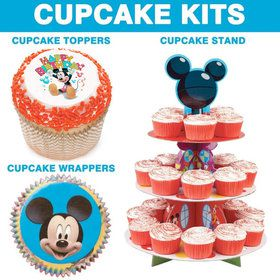Mickey Mouse Cupcake Kit