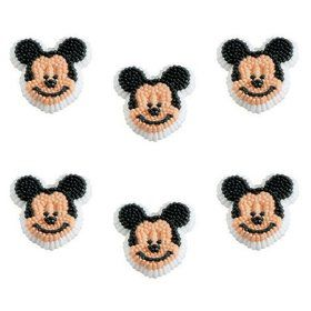 Mickey Mouse Edible Icing Decorations (12 Pack)