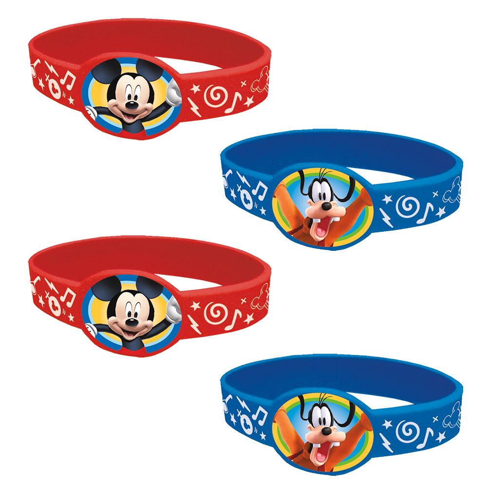 Mickey Mouse Favor Bracelets (4 Count) BB59864