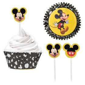 Mickey Mouse Forever Cupcake Kit