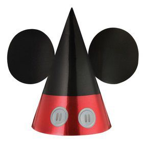 Mickey Mouse Forever Foil Party Hats (8)