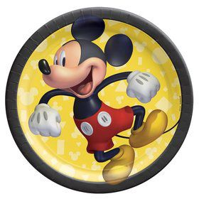 Mickey Mouse Forever Lunch Plates (8)