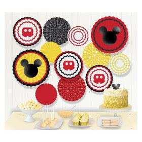 Mickey Mouse Forever Paper Fan Decorating Kit