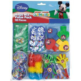 Mickey Mouse Mega Mix Favor Pack (For 8 Guests)
