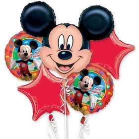 Mickey Mouse Mylar Balloon Bouquet (each)