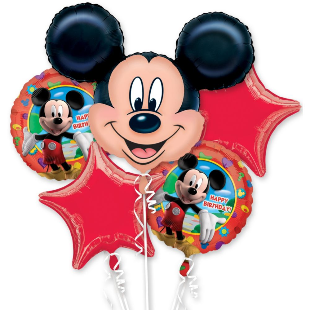 Mickey Mouse Mylar Balloon Bouquet (Each) BB021466