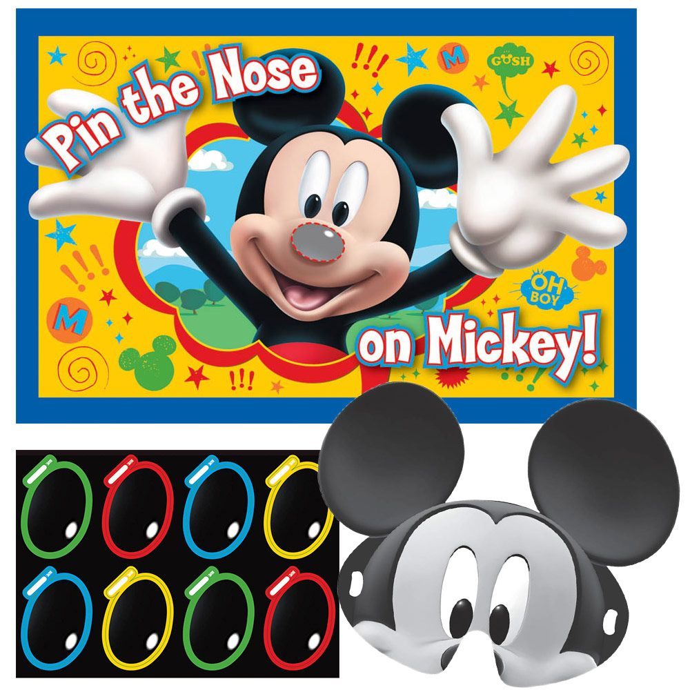 Mickey Mouse Disney Birthday Party Game (Each) Birthday