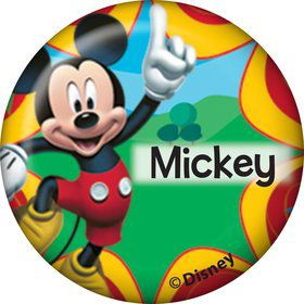 Mickey Mouse Personalized Mini Magnet (Each)