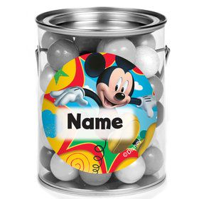 Mickey Mouse Personalized Mini Paint Cans (12 Count)