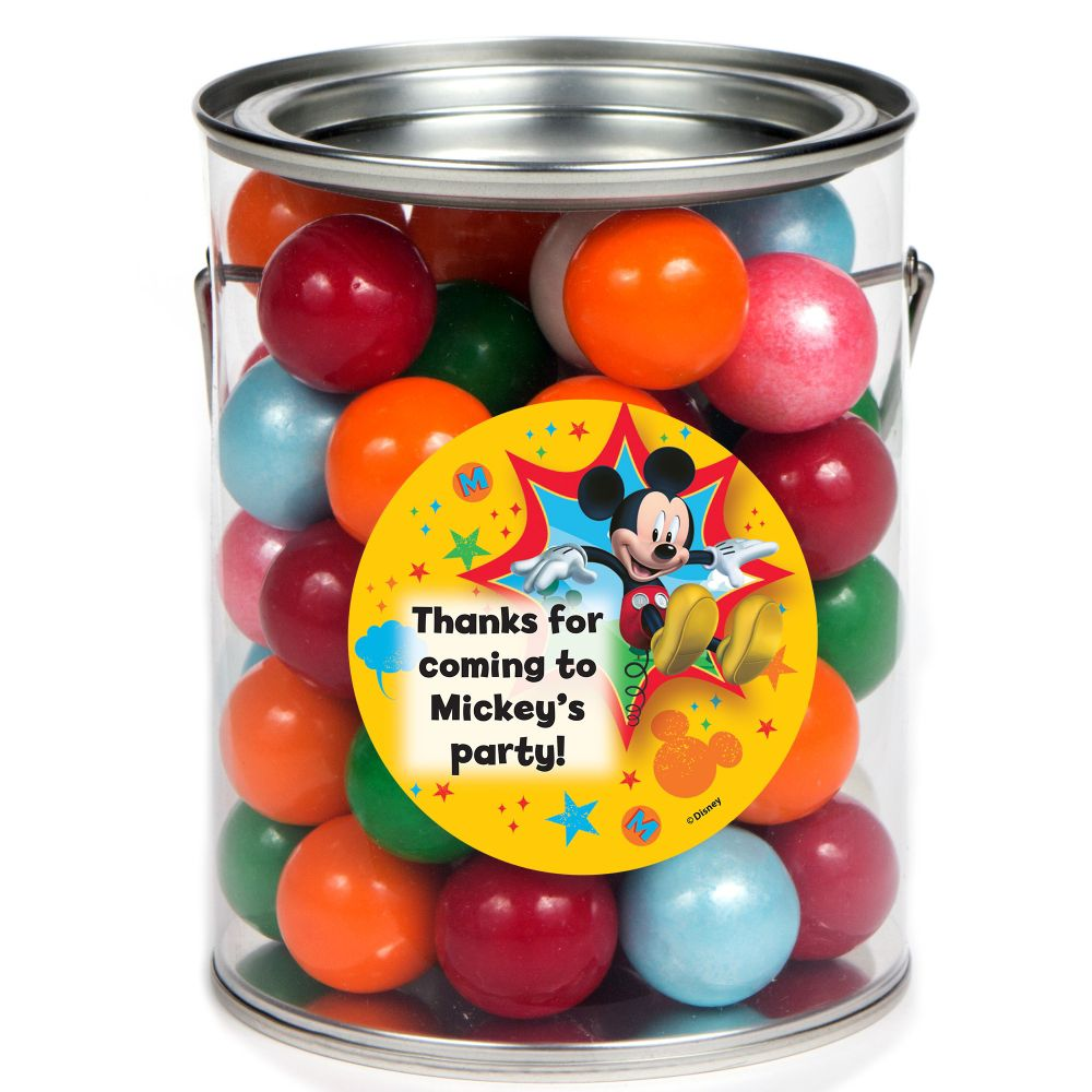 Mickey Mouse Personalized Paint Can Favor Container (6 Pack) BB1333PC