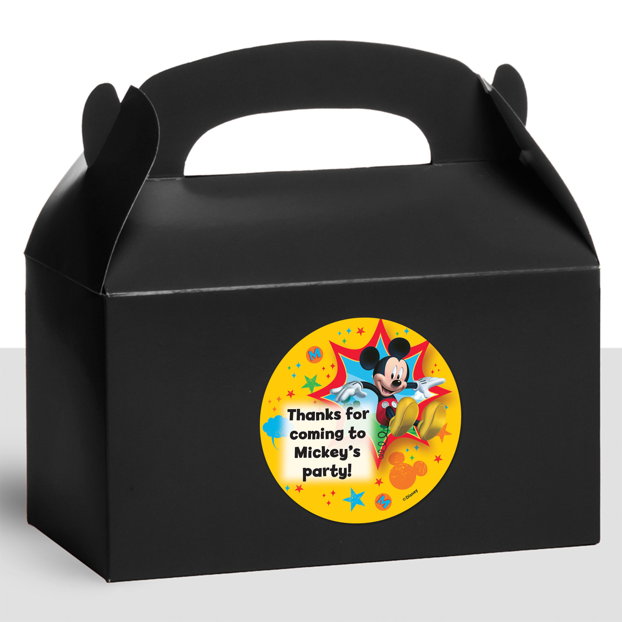 Mickey Mouse Personalized Treat Favor Boxes (12 Count) BB1333TFB
