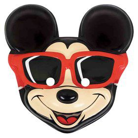 Mickey Mouse Plastic Mask (Each)