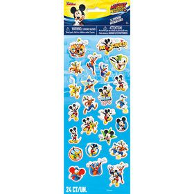 Mickey Mouse Puffy Sticker Sheet (Each)