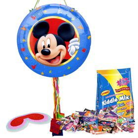 Mickey Mouse Pull String Pinata Kit