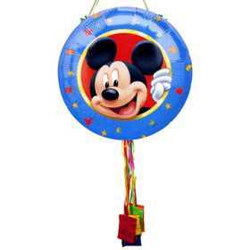 Mickey Mouse Pull String Pinata