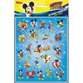 Mickey Mouse Sticker Sheets (4 Count)