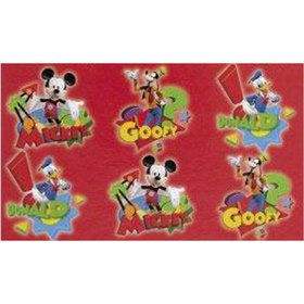 Mickey Mouse Tattoo Favors (2 Sheets)