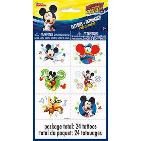 Mickey Mouse Tattoo Sheets (4 Count)