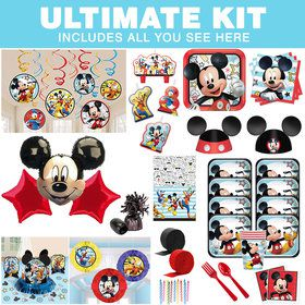 Mickey On The Go Ultimate Tableware Kit (Serves 8)
