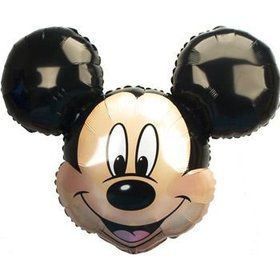 Mickey Shaped Mylar Balloon (each)