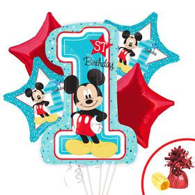 Mickey's 1st Birthday Balloon Kit