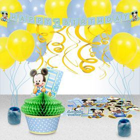 Mickey's 1st Birthday Decoration Kit