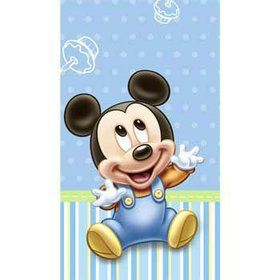 Mickey's 1st Birthday Table Cover (each)