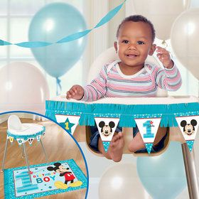 Mickey's Fun To Be One High Chair Decorating Kit