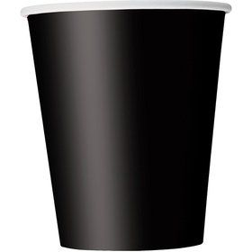 Midnight Black 9oz Cups (14 Count)