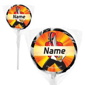 """Mighty Heroes Personalized 2"""" Lollipops (20 Pack)"""