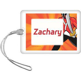 Mighty Heroes Personalized Bag Tag (each)