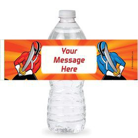 Mighty Heroes Personalized Bottle Labels (Sheet of 4)