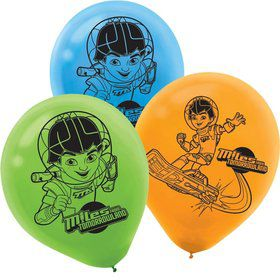 "Miles from Tomorrowland 12"" Latex Balloons (6 Pack)"