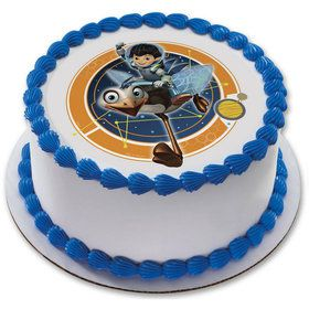 "Miles From Tomorrowland 7.5"" Round Edible Cake Topper (Each)"
