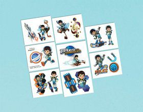 Miles from Tomorrowland Tattoo Favors (16 Pack)