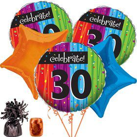MILESTONE CELEBRATIONS 30TH BALLOON KIT