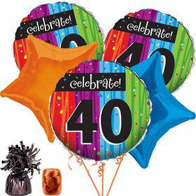 Milestone Celebrations 40Th Balloon Kit