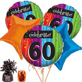 Milestone Celebrations 60Th Balloon Kit