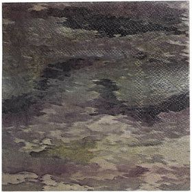 Military Camo Party Beverage Napkins (16)