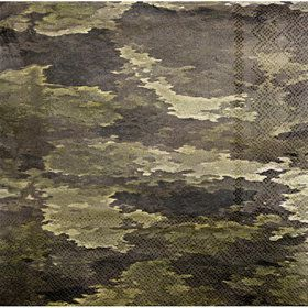 Military Camo Party Luncheon Napkins (16)