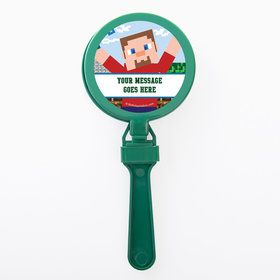 Mine Blocks Personalized Clappers (Set of 12)